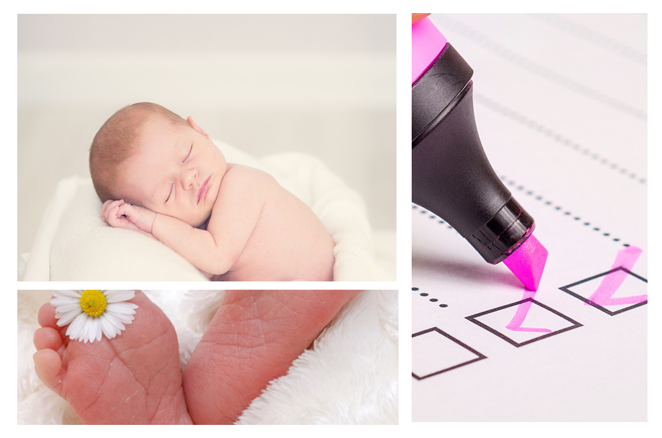 Newborn Checklist Accessories Needed for Meeting the Demands of Gestation